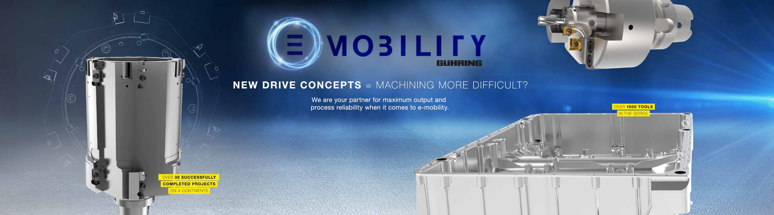 Gühring e-mobility