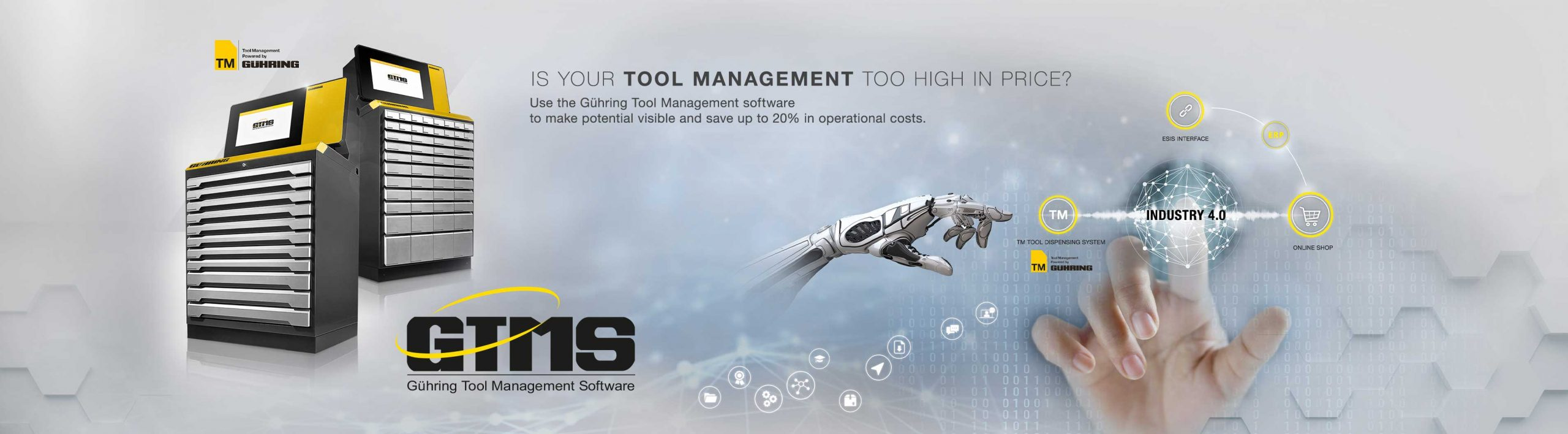 GTMS - Gühring Tool Management Software