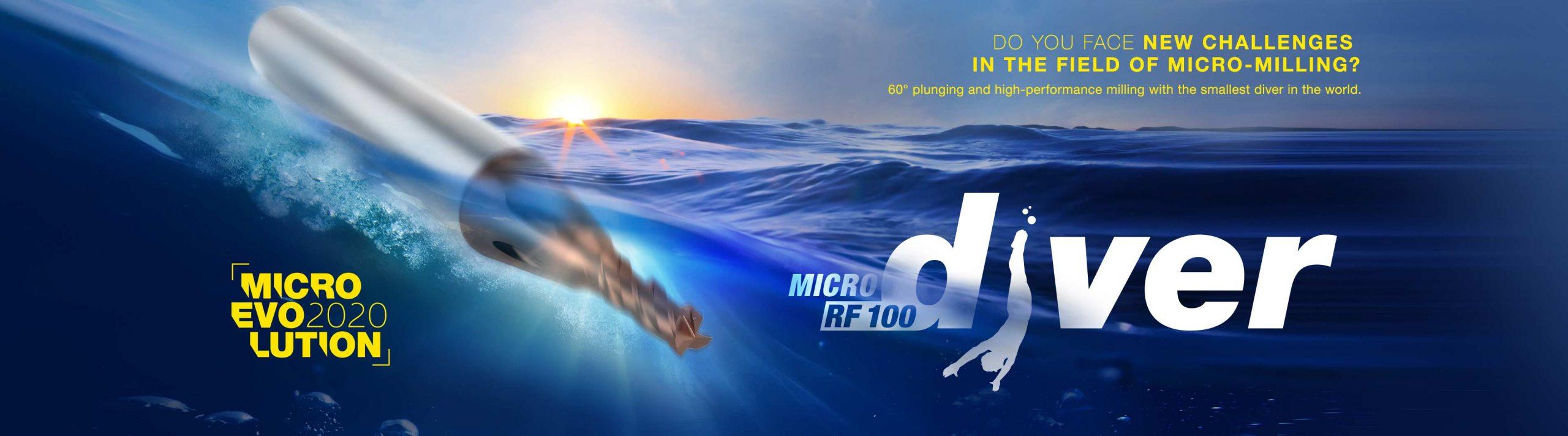 Gühring MIKRODIVER RF 100